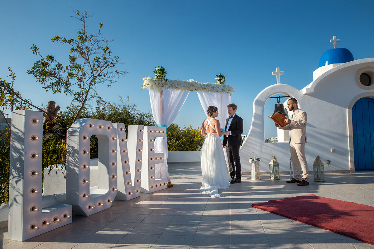 Santorini wedding Venue photos